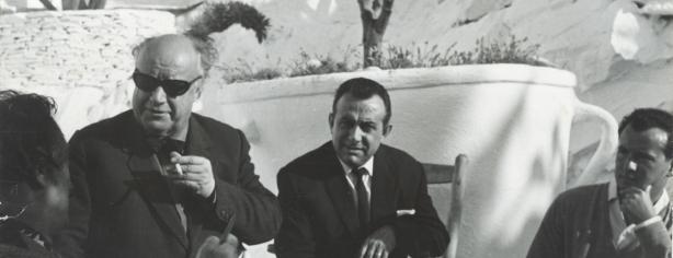 Fages De Climent Fent Tertúlia Amb Salvador Dalí I Altres Amics