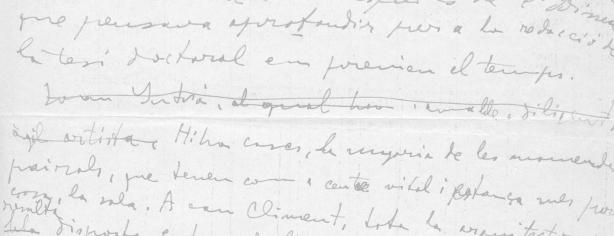 Full manuscrit de les memòries
