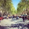 Sant Jordi a la Rambla de Figueres