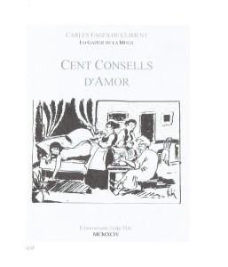 """Portada de l'edició de """"Cent consells d'amor"""" (1994)"""
