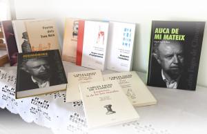 Alguns dels volums de Fages que podem trobar al mercat